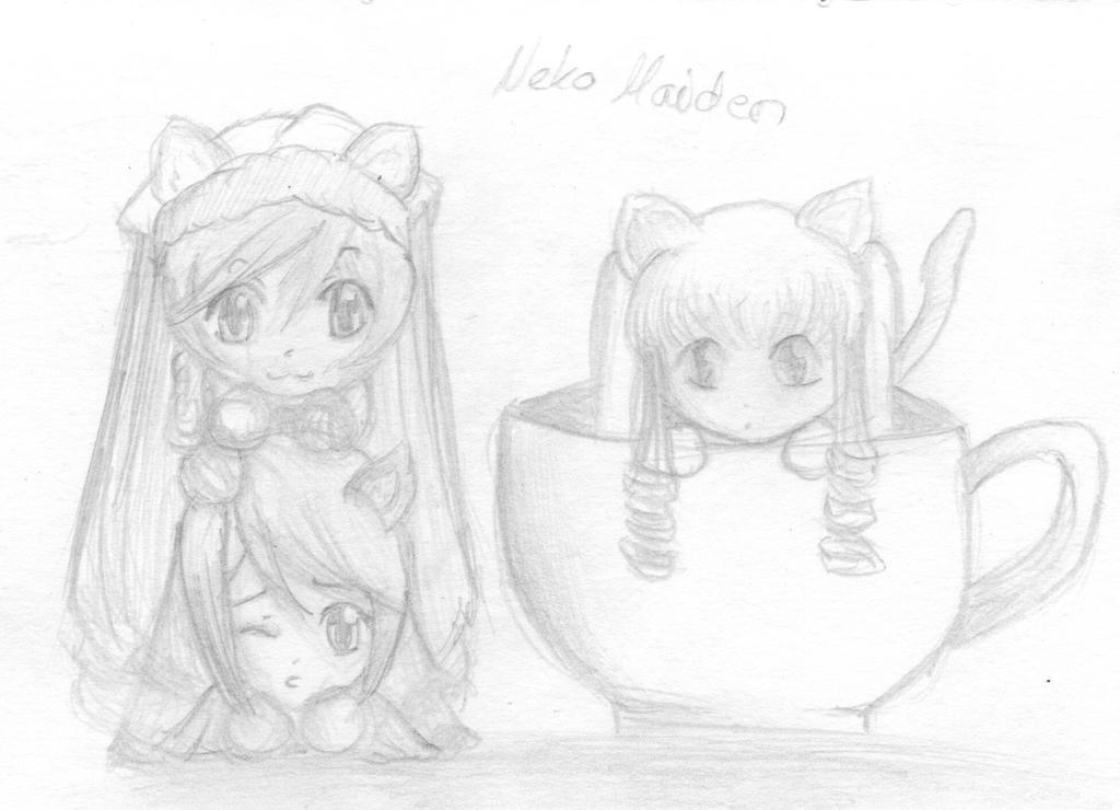 Neko-Maiden :3 by pinsel-chan