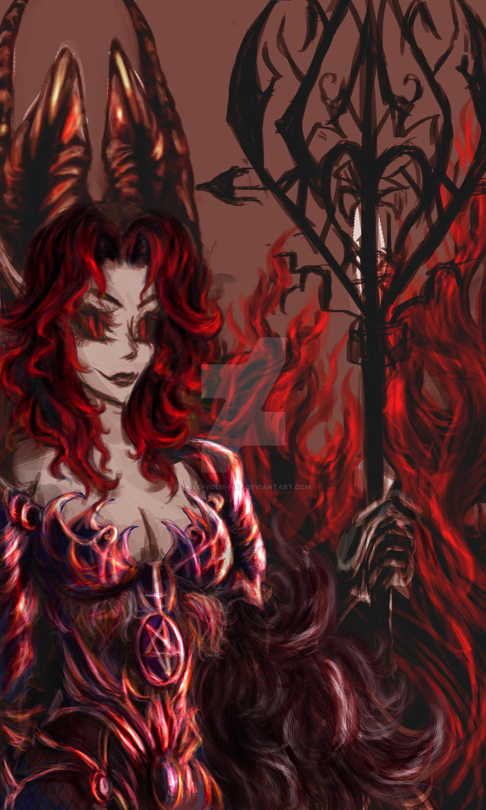 the devil queen by Hold-Your-Fire