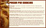 Pecan Pie Cookies - Recipe