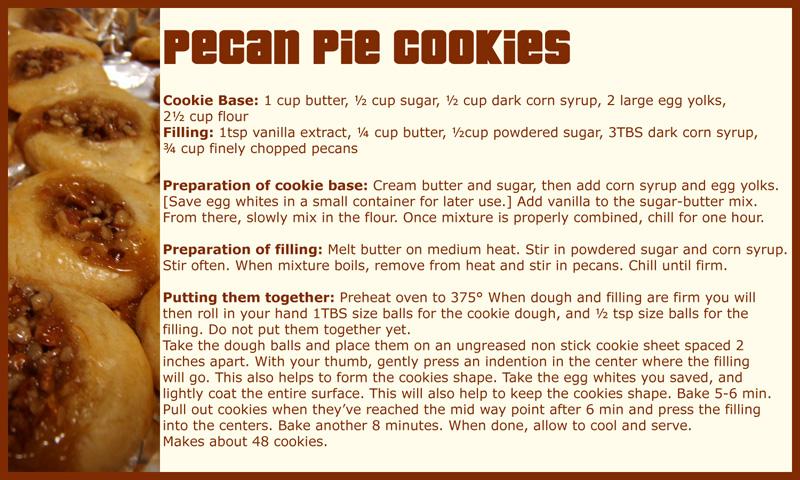 Pecan Pie Cookies - Recipe by limeykat