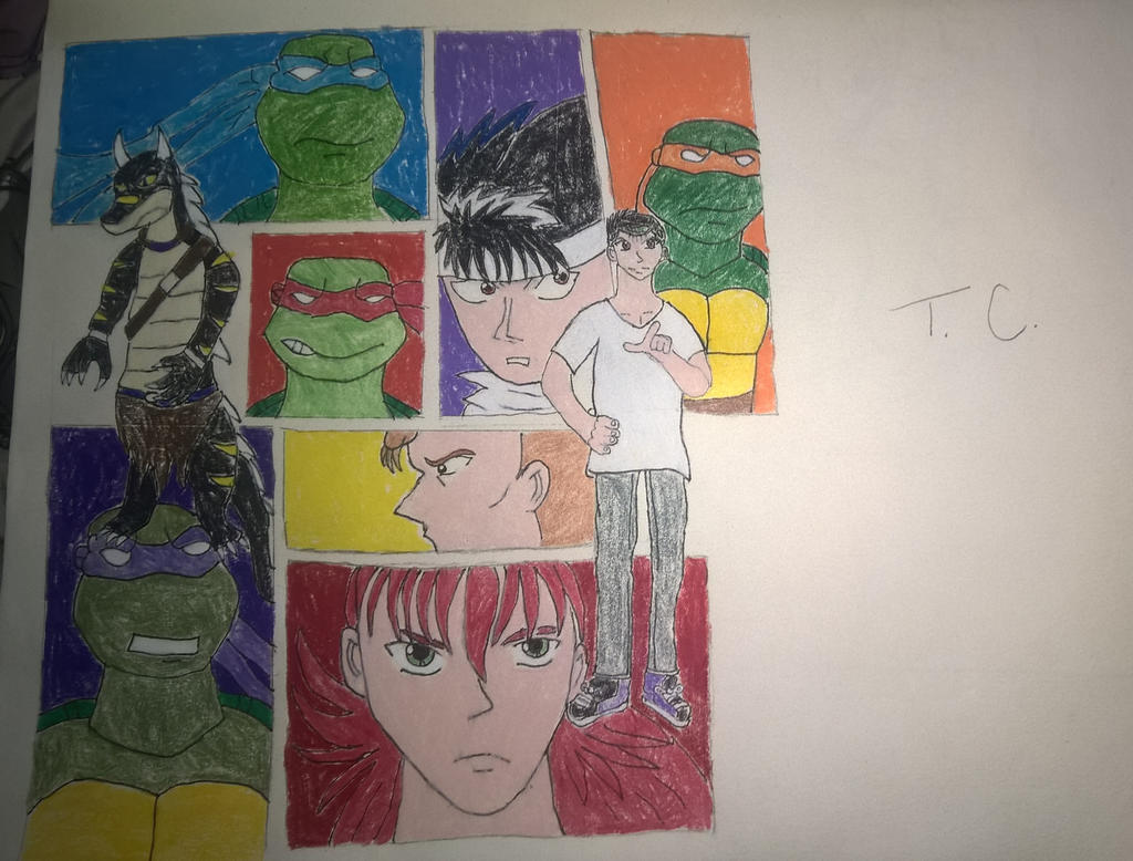 Turtle Hakusho Rebirth Cover