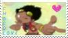 Chocolove Stamp by DeadlyTigerwolfClaw