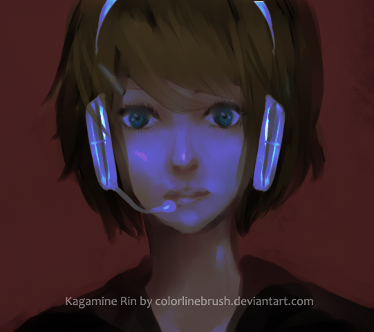 Kagamine Rin by colorlinebrush