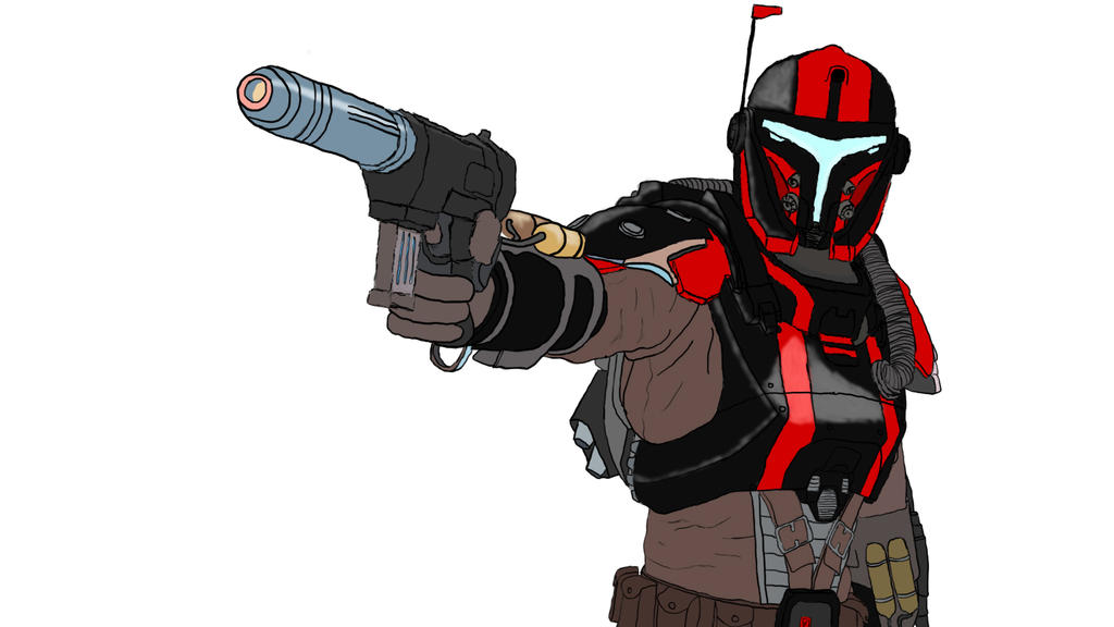 SWTOR Mandalorian Custom Stuf With Wallpaper By Rafamacamp