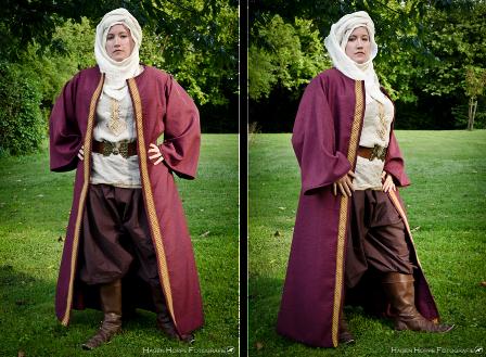 DSA LARP Costume - Aranian traveller by FrauAlanis on