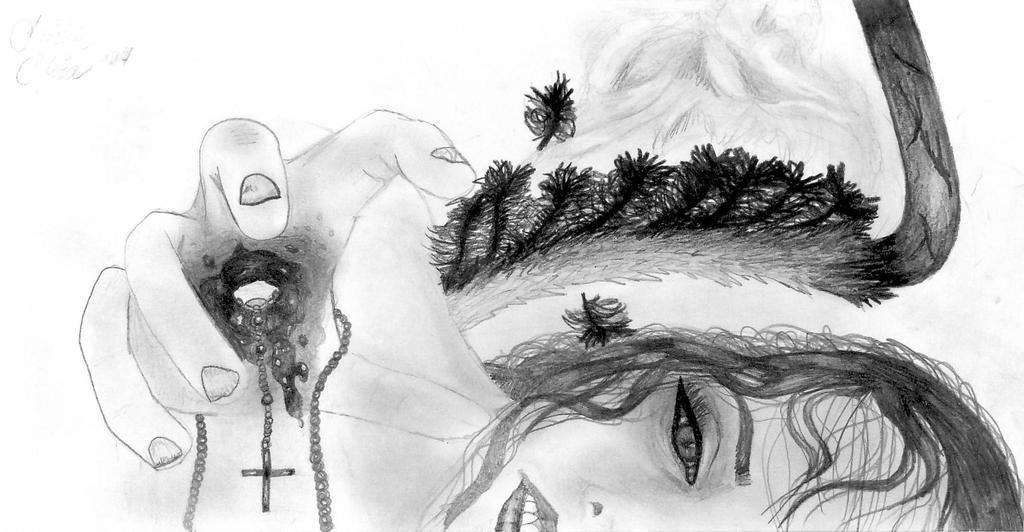 A fallen angel by Ellie-Jane13