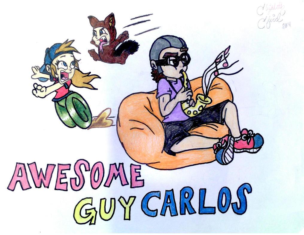 Awesome Guy Carlos by Ellie-Jane13