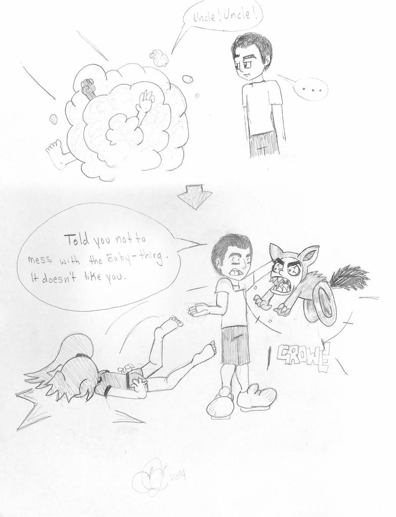 AGC comic: Baby Thing by Ellie-Jane13