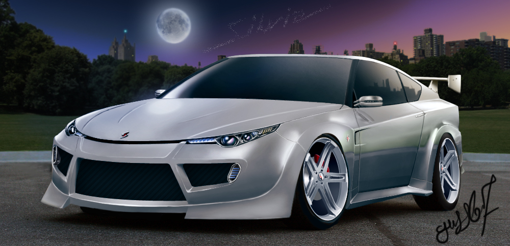 Nissan Silvia S16 City Night by Guss67 on DeviantArt