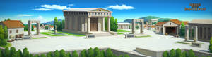 Ancient Greek Town