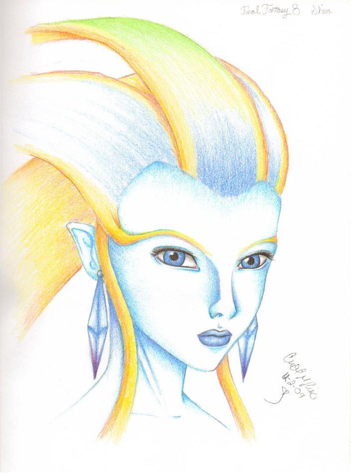 final fantasy 8 shiva by lashanta22 on deviantart
