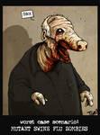 Swine Flu Zombie