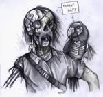 Cyborg Zombie Pirate