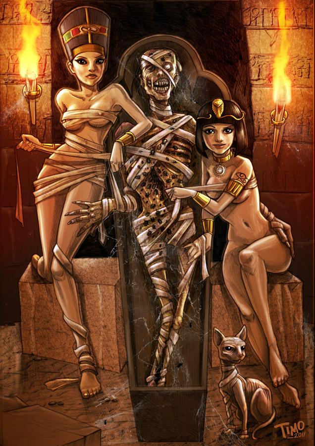 Порно мумия