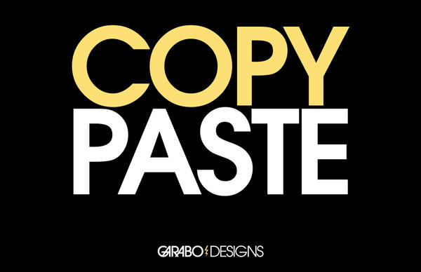 Copy Paste by GabO-GarabO