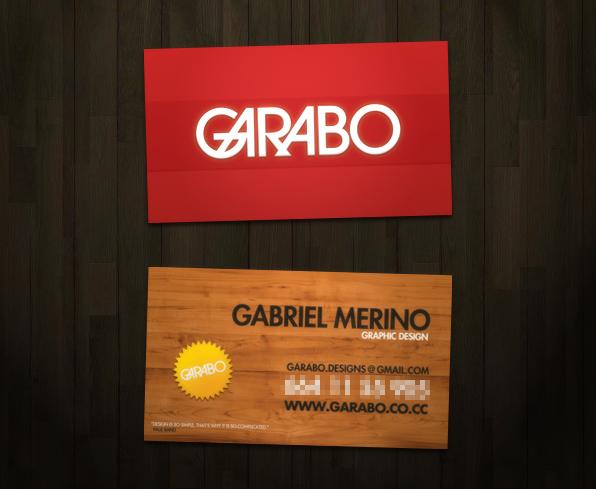 garabo Business Cards by GabO-GarabO