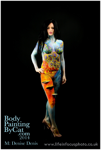 UK FB CON Denise reef body paint by Bodypaintingbycatdot