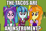 Are tacos an instrument?