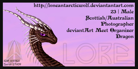 loneantarcticwolf's Profile Picture