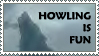 .:: Howling Is Fun ::. by loneantarcticwolf