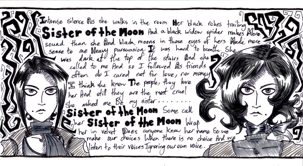 Sisters of the Moon by AuntyRichie