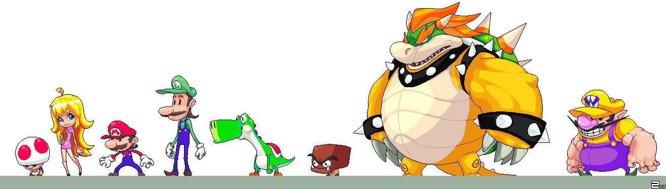 Super Mario Z by zeoarts