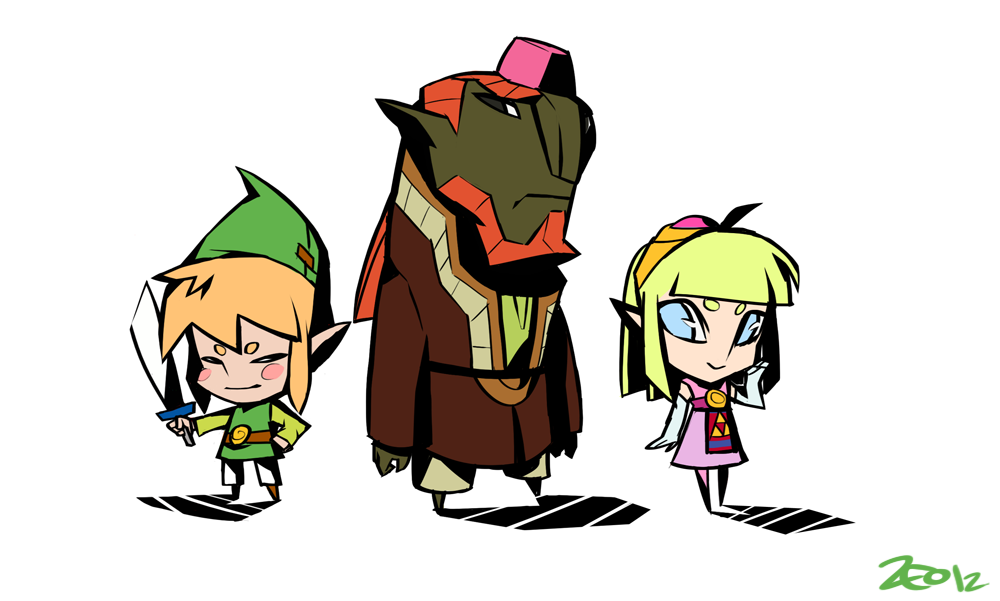 ZeldaKrashis by zeoarts