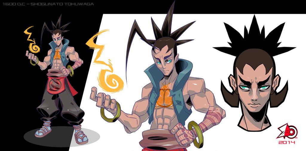 Magic Samurai by zeoarts