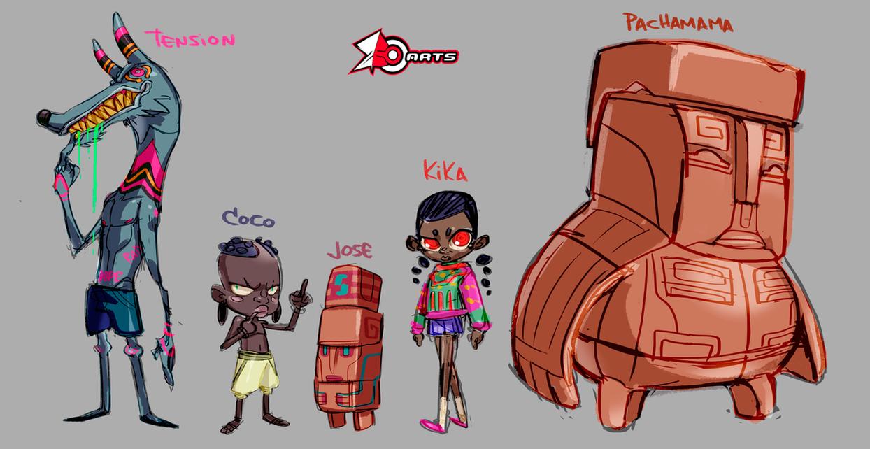 Afrikami Cast by zeoarts