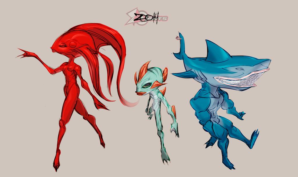 Fishez by zeoarts