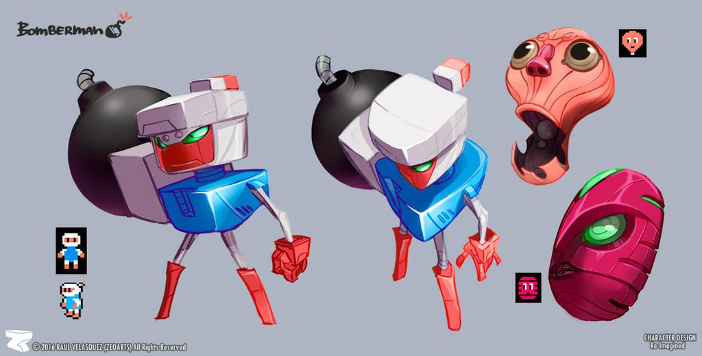 BombermanZero by zeoarts