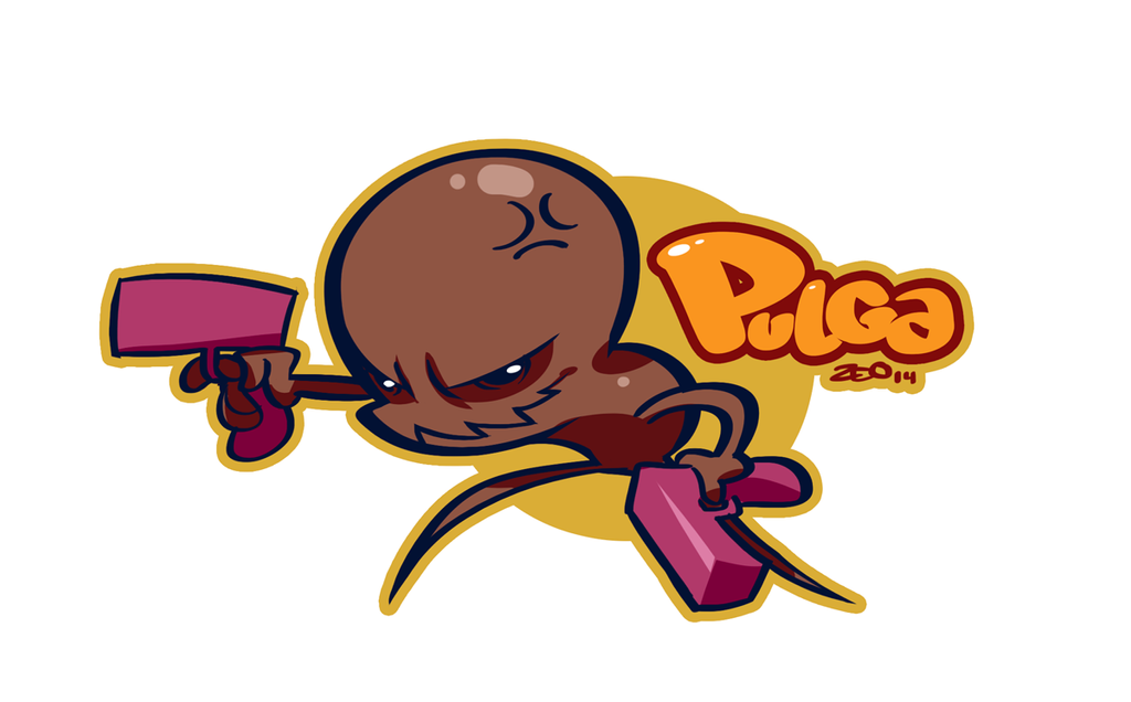 Pulga by zeoarts