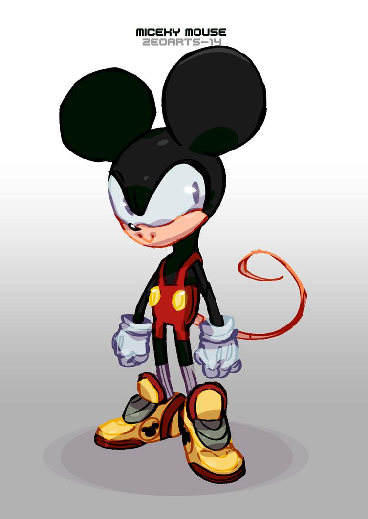 Mickey by zeoarts