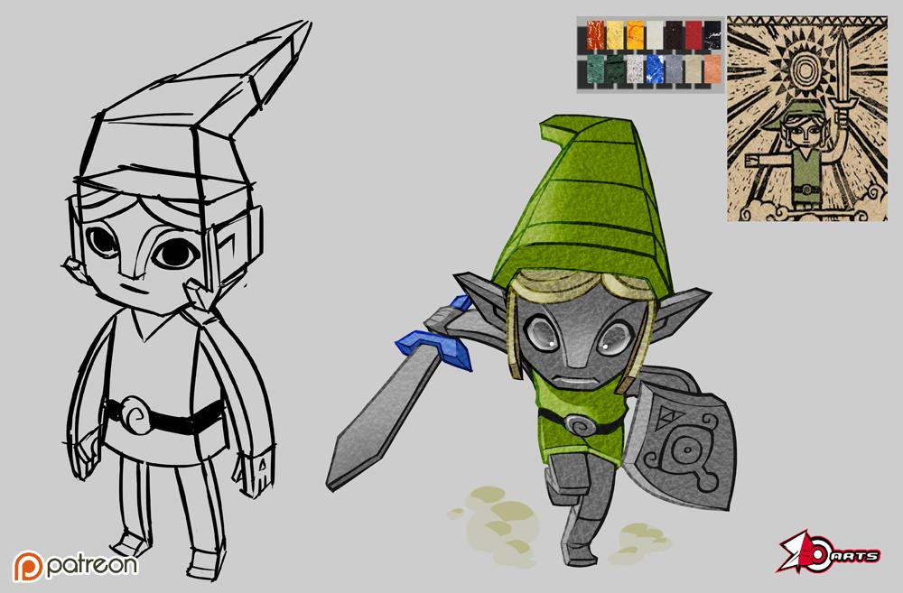 Zelda Patreon by zeoarts
