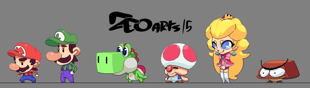 Super Mario ZZ by zeoarts