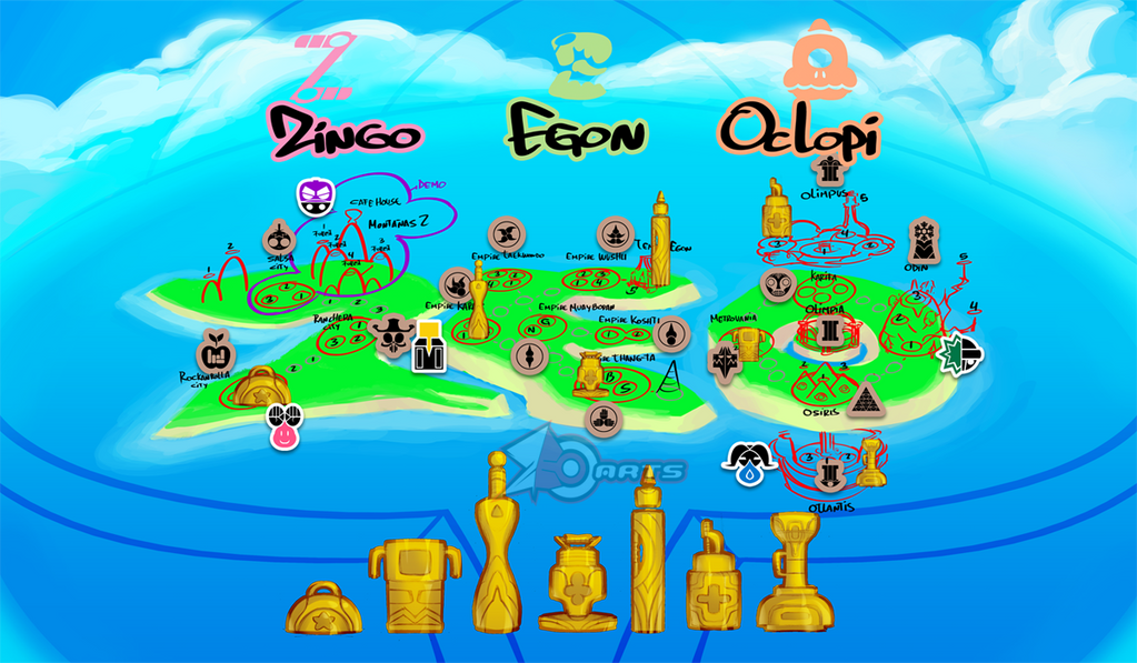 Zeoland Map by zeoarts