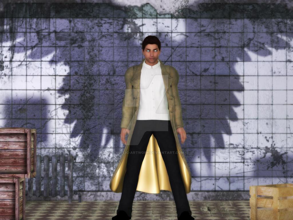 Castiel-Poser by Angelic-Artwork