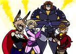 [MHA] Squad Up