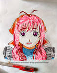Flowergirl colored doodle fill by Animoholic-Redux