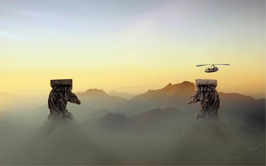 Into the Dragonlands by soumyasm