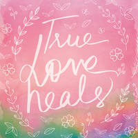 Pink Typography Quote Art by Soumya SM by soumyasm