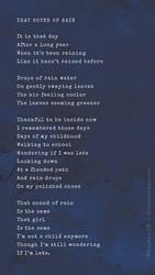 That Sound Of Rain by Soumya SM