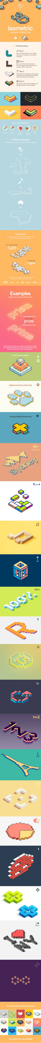 Isometric Shape Creator Preview Image