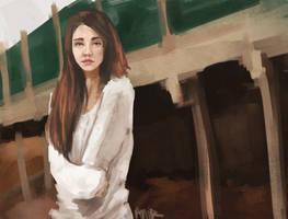 speed paint 28 by AnirBrokenear
