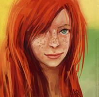 speed paint 30 by AnirBrokenear