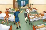 The medical ward by AnirBrokenear