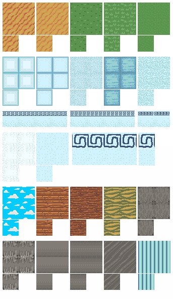Islandrome Tiles by AnirBrokenear