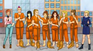 street sweeping team by AnirBrokenear