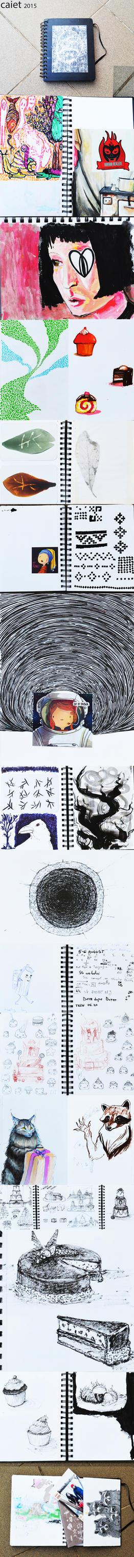 sketchbook dump by AnirBrokenear