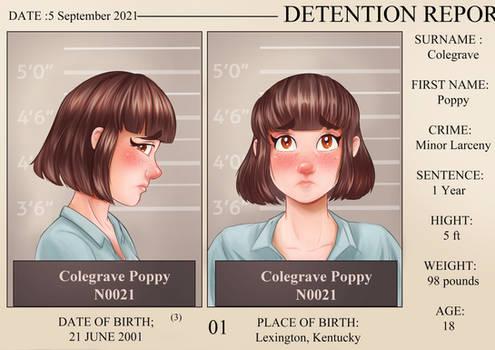 Poppy  Mugshot